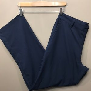 ADIDAS Blue Golf Pants Size 34
